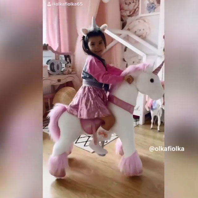 Fairy Pink Unicorn is cutest birthday gift