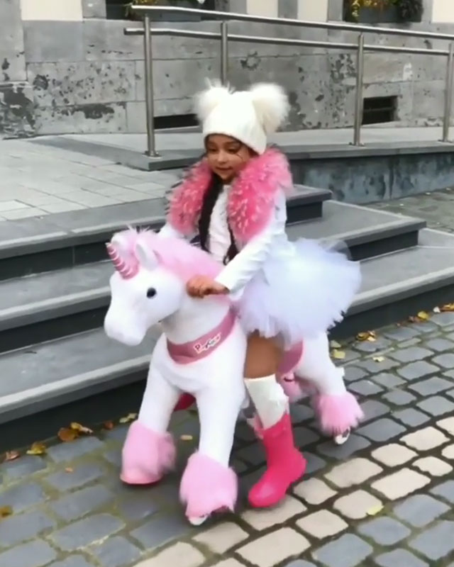 Adorable unicorn ride on toys for kids